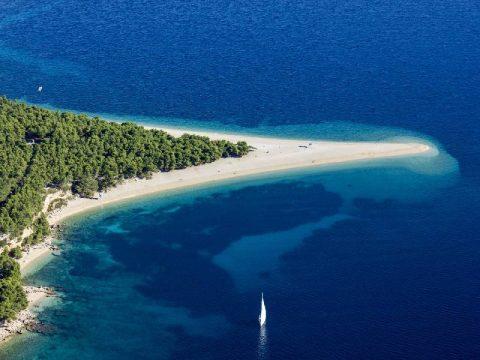 Zlatni rat - Beach on island of Brac