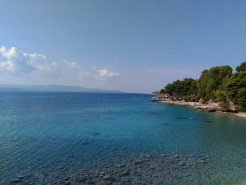 Cristal clear sea on Island of Brac